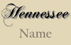 History of the Hennessee name